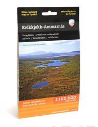 Kvikkjokk - Ammarnäs (1:100 000)
