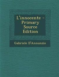 L'innocente - Primary Source Edition