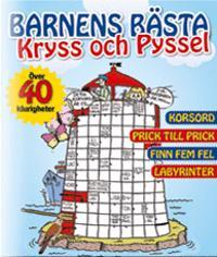 Barnens bästa kryss och pyssel -  pdf epub