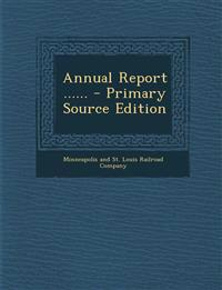 Annual Report ......