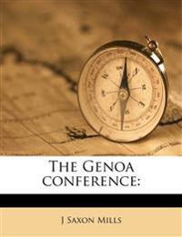 The Genoa conference: