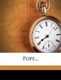 Pope...
