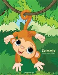 Scimmie Libro Da Colorare 1, 2 & 3