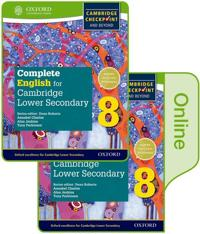Complete English for Cambridge Lower Secondary Print and Online Student Book 8