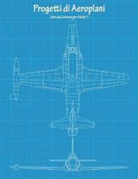 Progetti Di Aeroplani Libro Da Colorare Per Adulti 1