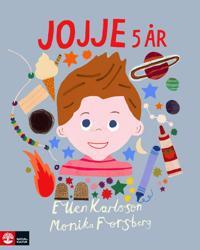 Jojje 5 år - Ellen Karlsson - böcker (9789127154414)     Bokhandel