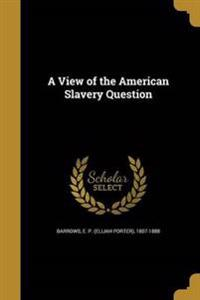 VIEW OF THE AMER SLAVERY QUES
