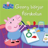 Georg börjar förskolan