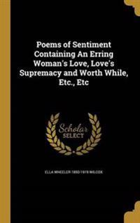 POEMS OF SENTIMENT CONTAINING