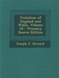 Visitation of England and Wales, Volume 10