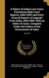 DIGEST OF INDIAN LAW CASES CON