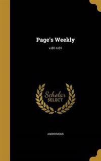 PAGES WEEKLY V01 N01