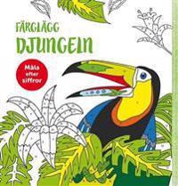 Färglägg djungeln -  pdf epub