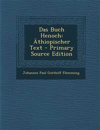 Das Buch Henoch: Äthiopischer Text