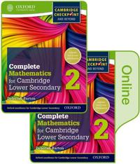 Complete Mathematics for Cambridge Lower Secondary + Online Student Book