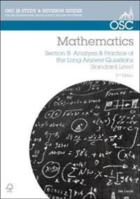 Ib mathematics: analysis & practice of the long answer questions - for exam