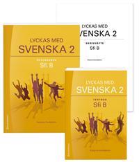 Lyckas med svenska 2 Paket Textbok och Övningsbok - Sfi B