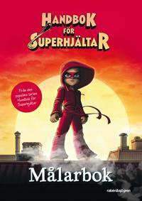 Handbok för superhjältar - Målarbok