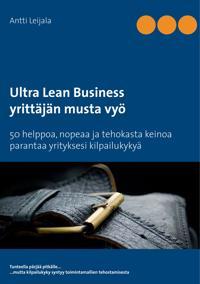 Ultra Lean Business: yrittäjän musta vyö