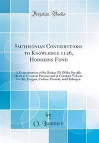 Smithsonian Contributions to Knowledge 1126, Hodgkins Fund