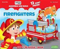 FIREFIGHTERS GIANT 3D PUZZLEBOOK