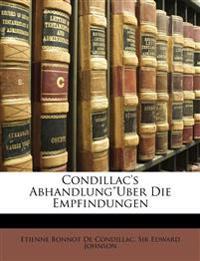 """Condillac's Abhandlung""""Uber Die Empfindungen, Band 25"""