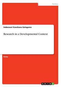 Research in a Developmental Context