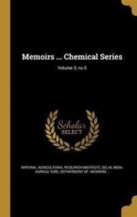 MEMOIRS CHEMICAL SERIES V03 NO