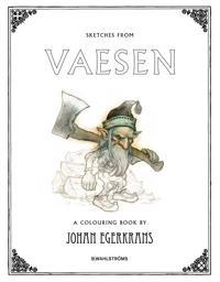 Sketches from Vaesen : a colouring book