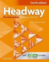 New Headway: Pre-intermediate: Workbook + iChecker with Key