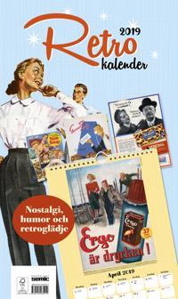 Retrokalender 2019 -  - böcker (9789155265212)     Bokhandel