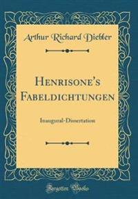 Henrisone's Fabeldichtungen