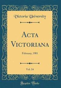 ACTA Victoriana, Vol. 24