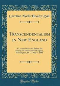 Transcendentalism in New England