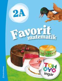 Favorit matematik 2A Elevpaket - Digitalt + Tryckt