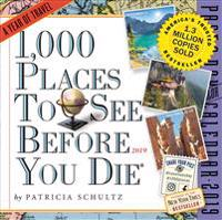 1,000 Places to See Before You Die 2019 Calendar