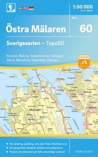 60 Östra Mälaren Sverigeserien Topo50 : Skala 1:50 000