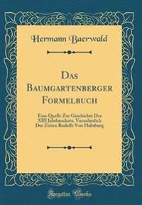 Das Baumgartenberger Formelbuch