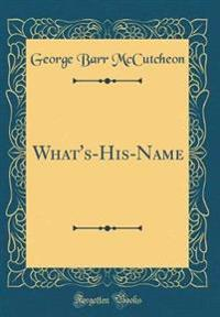 What's-His-Name (Classic Reprint)