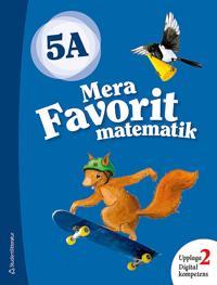 Mera Favorit matematik 5A Elevpaket - Digitalt + Tryckt