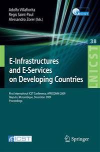 E-Infrastructures and E-Services on Developing Countries