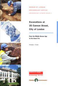 Excavations at 25 Cannon Street, City of London