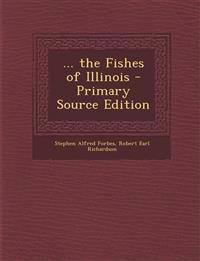 ... the Fishes of Illinois