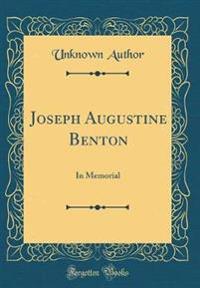 Joseph Augustine Benton