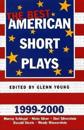 The Best American Short Plays 1999-2000