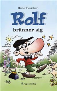 Rolf bränner sig (CD + bok)