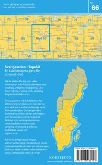 66 Ludvika Sverigeserien Topo50 : Skala 1:50 000
