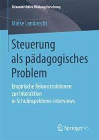 Steuerung Als Pädagogisches Problem