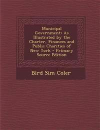 Municipal Government: As Illustrated by the Charter, Finances and Public Charities of New York - Primary Source Edition