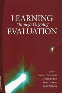 Learning through ongoing evaluation